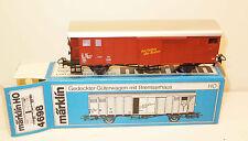Märklin H0 4698 Güterwagen mit Bremserhaus der SBB