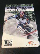 Video Game PC Bode Miller Alpine Skiing NEW SEALED Box