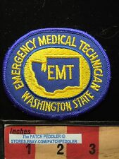 Washington State Emt Medical Patch ~ Emergency Medical Technician 62I2