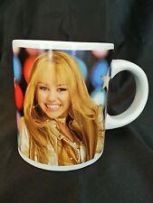 Disney Hannah Montana Ceramic Coffee Cup Mug Vintage EUC Jerry Leigh Miley Cyrus