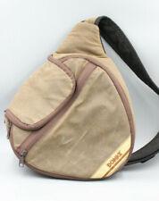 Domke Quick Shot Sling Camera Bag Medium Brown Rugged Wear Waxed Canvas