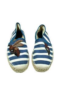 Authentic Gucci Men Shoes Espadrilles Multi size 9.5UK,10USA,43EU