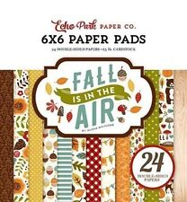 "ECHO PARK ""FALL IS IN THE AIR"" 6X6 PAPER PAD AUTUMN LEAVES SCRAPJACK'S PLACE"