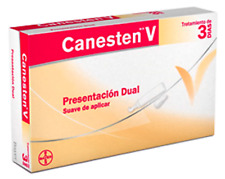 Canesten V DUAL 3 Days Ovules and Cream/Canesten V Dual 3 Dias Ovulos y Crema