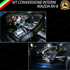 KIT FULL LED INTERNI MAZDA RX-8 RX8 CONVERSIONE COMPLETA 6000K
