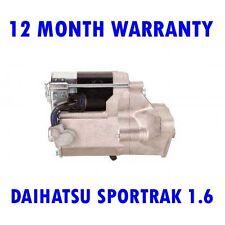 DAIHATSU SPORTRAK 1.6 16V 1988-1999 RMFD STARTER MOTOR 12 MONTH WARRANTY