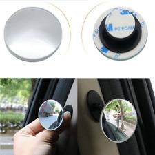 1x Car 360° Blind Spot Side Mirror Stick On Glass Adjustable Safety Lens Convex
