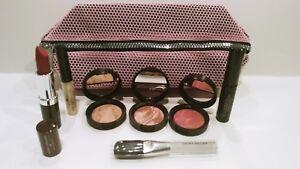 New Laura Geller Lipstick, Glos, Foundation, Bronzer, Mascara, Brush & Bag $115!