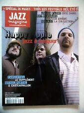 "JAZZ MAGAZINE #538 ""Happy Apple,Julien Clerc,Roy Hargrove,Michel Portal"" (revue)"