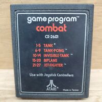 COMBAT Atari 2600 Video Game Cartridge Only CX2601 Tested