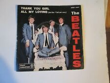 THE BEATLES -  THANK YOU GIRL - ALL MY LOVING -FILM TUTTI PER UNO MADE IN ITALY
