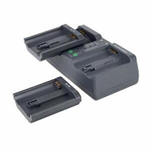 MH26 Dual Sequential Fast Charger For Nikon EN-EL18 EL4 Canon LP-E4 E19 Battery