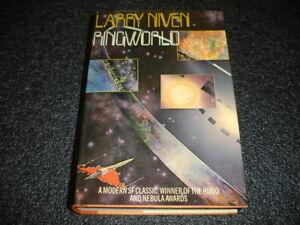 Larry Niven  Ringworld  1st American edition HBDJ  SIGNED