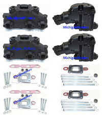 MerCruiser 4.3L Center-Rise, Dry Joint, Exhaust Manifold Package (2002-Current)