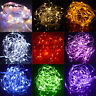 Battery Operated Christmas Fairy Light LED String Outdoor Landscape Patio Garden