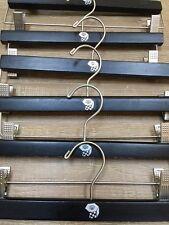 Mountain Hardwear Clothing Pants Skirt Designer Adjustable Wooden Hangers Set 8