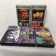 Wwf Wrestling Vhs Tape Lot