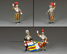 KING & COUNTRY CEREMONIAL CE026 SWISS GUARD RECRUIT MIB