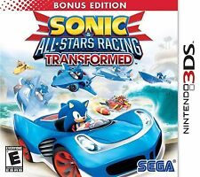 sonic all-stars racing transformed (3DS)  *New,sealed*