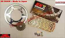 Honda CBR900RR Fireblade (1996 to 1999) EK Gold X-Ring Chain & JT Sprockets Kit