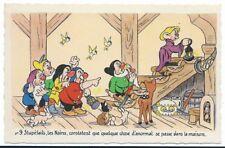 Carte Postale - WALT DISNEY - Edition Superluxe Paris  Blanche Neige  N°9