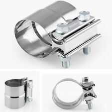 """2.0"""" Stainless Steel Exhaust Muffler Sleeve Butt Joint Clamp Exhaust Band Clamp"""