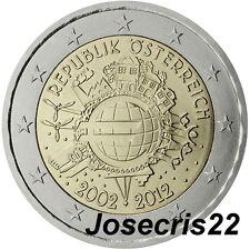 2€ CONMEMORATIVA AUSTRIA 2012 TYE:CIRCULACIÓN MONEDAS Y BILLETES. SIN CIRCULAR