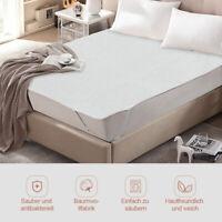 Matratzenschoner Betteinlagen 160x200 cm Matratzenschutz Betteinlage Baumwolle