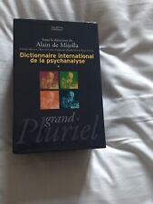 Dictionnaire International de La Psychanalyse - Alain De Mijolla - Pluriel