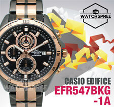 Casio Edifice Chronograph Watch EFR547BKG-1A