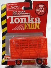 Tonka Farm Farm Equipment Die Cast Metal Bale Throw Wagon Scale 1:64