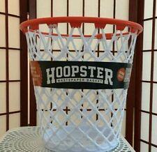 Hoopster Basketball Waste Paper Basket Trash Can -NEW!