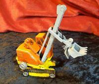 Vintage Corgi Major Toys Priestman Shovel Digger - Tracks but missing pully rope