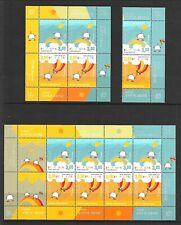 BOSNIA (CROAT ADM) Sc 231-2+232A+M/S NH issue of 2010 - EUROPA