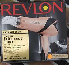 Revlon Pro Collection Laser Brilliance Shine Styler Hair Dryer Ionic Technology