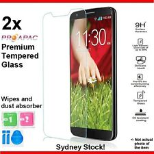 2x HTC One X10 X 10 Genuine Tempered Glass Screen Protector LCD 9H Proapac