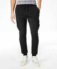 $220 American Rag Sweatpants Men'S Black Cargo Jogger Sweatpants Size 2xl