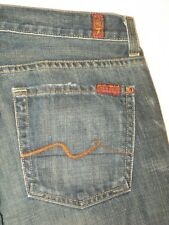 7 For all Mankind Jeans Mens Standard Straight 100% Cotton USA made 30 X 28