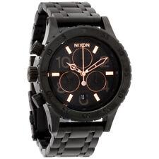 Nixon 38-20 Black Dial Stainless Steel Ladies Watch A40495700