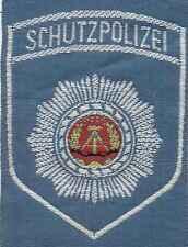 DDR Textilabzeichen Transportpolizei blau -Schutzpolizei- für Uniformbluse