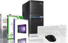 PC Quad Core Computer Gamer A8 5600k 16gb SSD HDD Rechner komplett Windows 7