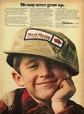 1970 Print Ad of John W Eshelman & Sons Red Rose Animal Feeds never grow up