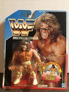 WWE WWF Hasbro The Ultimate Warrior MOC Series 2 Wrestling Action Figure NIP Vtg