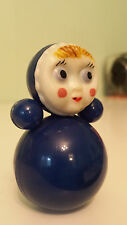 Collectable Russian Toy Doll Nevaliashka Roly Poly Soviet Memorabilia Communist