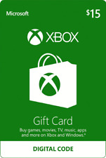 XBOX Live Gift Card NORTH AMERICA 15 USD Key