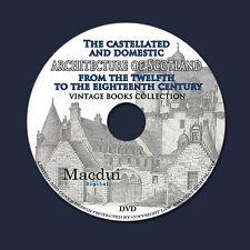 Castles and domestic architecture of Scotland 12-18 century – Ebooks 5 PDF 1 DVD