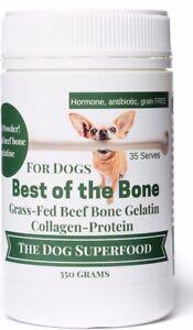 Pet Bone Broth Superfood - Beef Bone Broth protein & mineral powerhouse