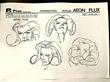 Peter Chung's Aeon Flux Isthmus Crypticus Character Background Art Settei