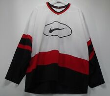HTF Vintage ProWear Bauer Nike Swoosh #44 Hockey Shirt Men's Large