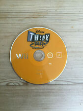 Disney Think Fast for Nintendo Wii *Disc Only*